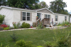 landscaped Manufactured Home