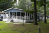 double wide Manufactured Home with large front porch