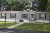 Manufactured Home with tan siding